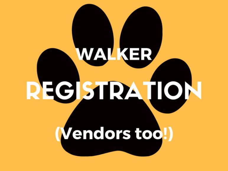 Register to walk or exhibit at the 20th Annual Pooch Parade