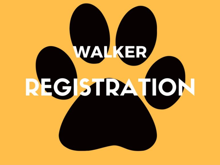 Register to walk in the 20th Annual Pooch Parade!